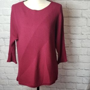 CHICO's Ribbed Sweater